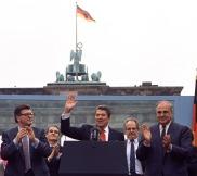 Reagan at the Wall