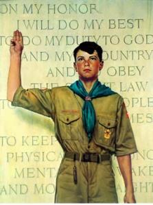 Scout Oath Leadership Rockwell