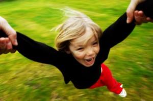 leading joy child